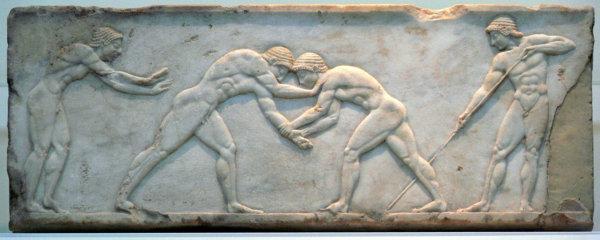 lottatori greci - Ars defendendi